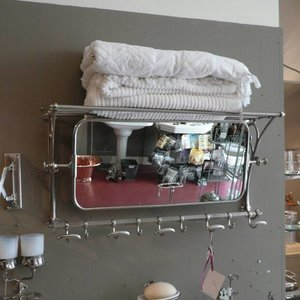 Mirror Hat-Rack