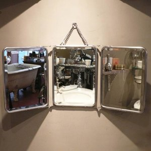 Trifold Mirror Nickel