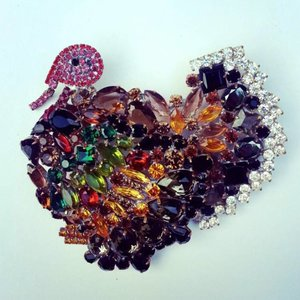 Strass Brooch Turkey