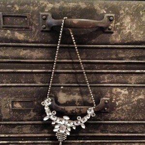 Necklace strass Diamanthe