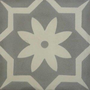 Floor Tile Fleur Pointee