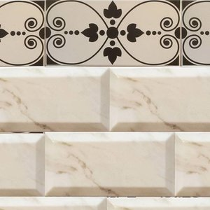Decorative Border Tiles Art Nouveau