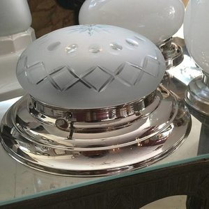 Ceiling Lamp Boule Plat