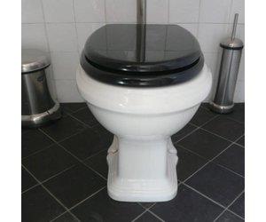 Toiletpot in een sierlijke art nouveau stijl affaire d eau