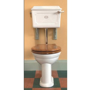 Toilet Porselein Halfhoog Thomas Crapper