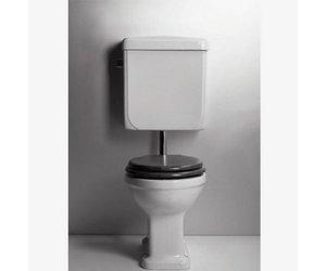 Toilet in art deco stijl