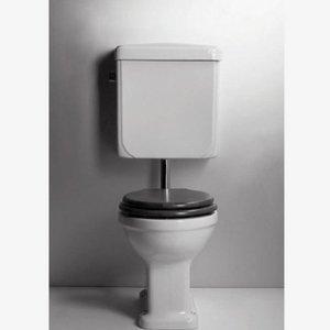 Toilet Halfhoog Art Deco 1