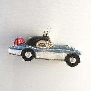 Kerstbal Blauwe Auto