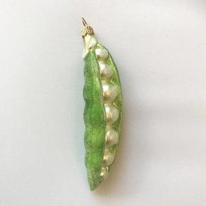 Christmas Decoration Garden Peas Frosted