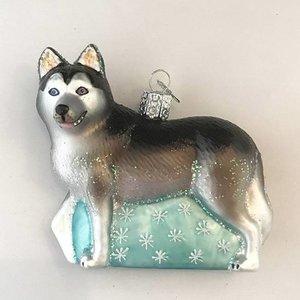 Christmas Decoration Husky