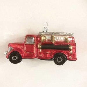 Christmas Decoration Fire Truck