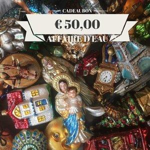 Cadeaubon Kerstdecoraties € 50,-