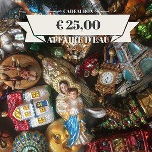 Cadeaubon Kerstdecoraties € 25,-