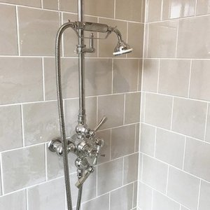 Thermo shower Art Deco