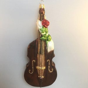 Christmas Decoration Double Bass