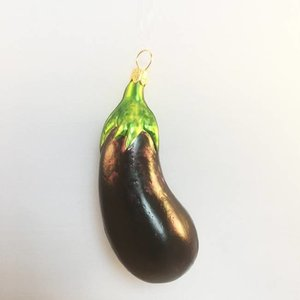 Christmas Decoration Small Eggplant