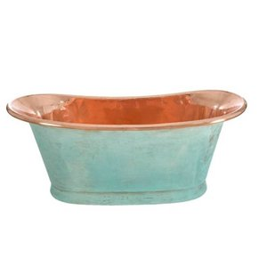 Copper Bath Verdigris
