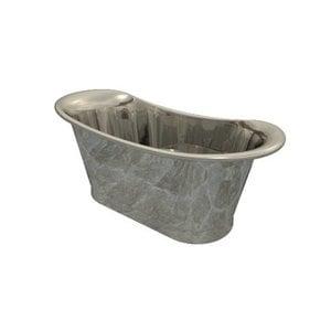 Brass Bath Polished Nickel