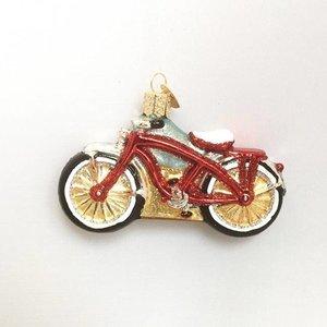 Christmas Decoration Cruiser Bike