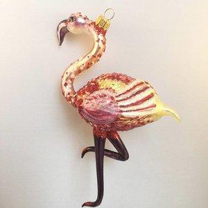 Christmas Decoration Flamingo Large