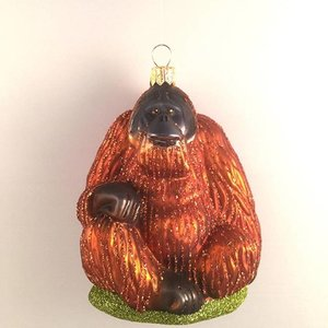 Christmas Decoration Orangutan