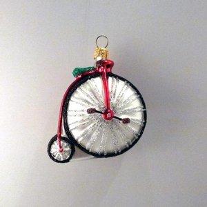 Kerstbal Vélocipède