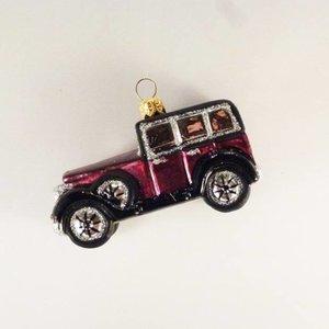 Kerstbal Speelgoedauto