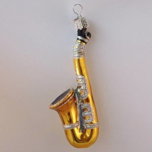 Kerstbal Saxofoon