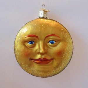 Christmas Decoration Man in the Moon