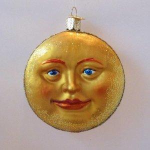 Kerstbal Mannetje in de Maan