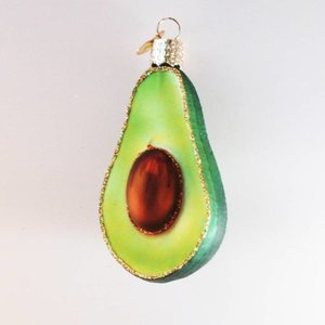 Christmas Decoration Avocado