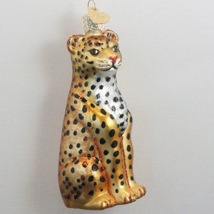 Christmas Decoration Leopard