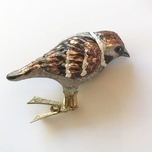 Christmas Decoration Clip Sparrow