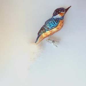 Christmas Decoration Clip Kingfisher