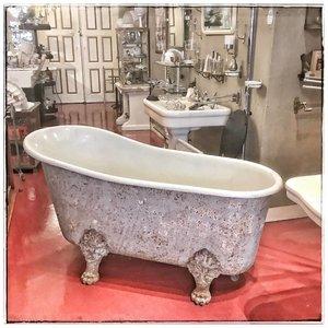 Antique bath Patte de Lion