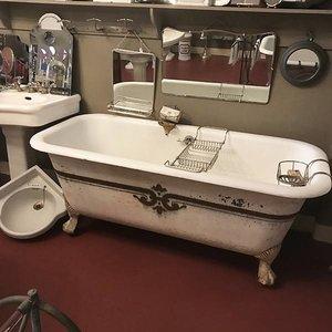 Antique bath Carré RESERVED