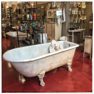 Antique bath Empire