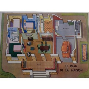 School Poster Floor Plan
