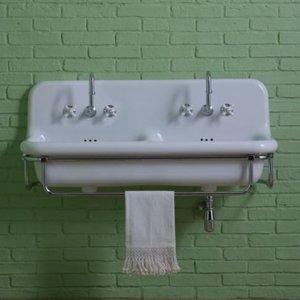 Double washbasin Industruy