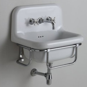 Industrial washbasin 60 cm