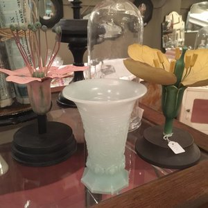Antique vase Opaline