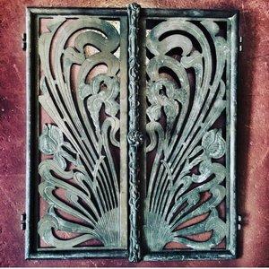 Koperen  deurtjes Jugendstil