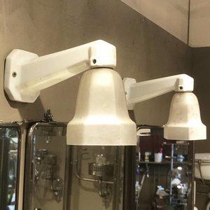 Set antieke porseleinen lampjes