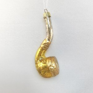 Christmas Decoration Pipe Gold