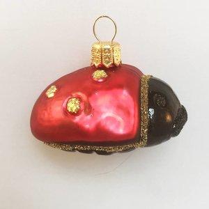 Christmas Decoration Ladybug Gold