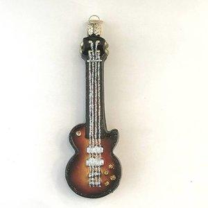 Christmas Decoration Bass Guitar