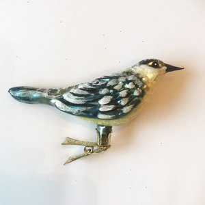Christmas Decoration Thrush Bird