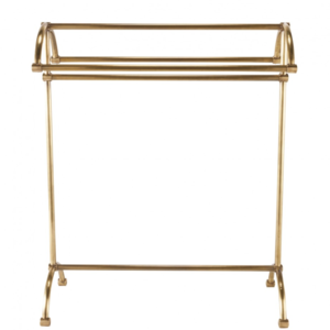Towel rack Brass free standing