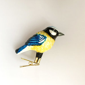 Christmas Decoration Great Titmouse