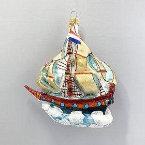 Christmas Ornament Sailing Ship
